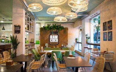 Raw Coco Green Bar. Comida sana a cualquier hora